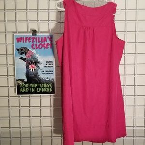 Lane Bryant Dresses - Lane Bryant Size 20 Pink Dress with Pockets